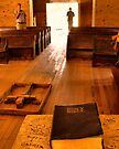 """Cades Cove Missionary Baptist Church: Interior Design""... prints and products by © Bob Hall"