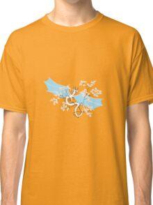 Cherry Tree Dragon - White and Blue Classic T-Shirt