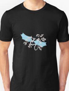 Cherry Tree Dragon - White and Blue T-Shirt