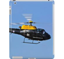 Red Arrows - Red Ten's Squirrel Helicopter iPad Case/Skin