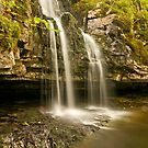 Spring Waterfall by Stephen Knowles