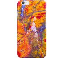 Cherry Tree On Fire (Cherry Creek Jasper) iPhone Case/Skin