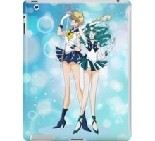 Sailor Uranus and Neptune  iPad Case/Skin