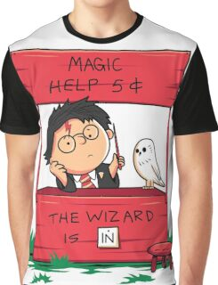 Wizard For Hire Graphic T-Shirt