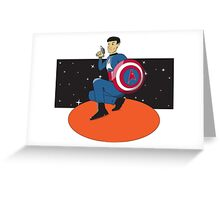 Captain Federation: Spock Greeting Card