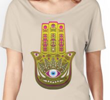 Hamsa. Women's Relaxed Fit T-Shirt