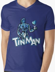 """Tin Man"" By Dreamscape Colony Mens V-Neck T-Shirt"
