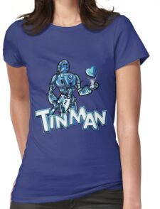 """Tin Man"" By Dreamscape Colony Womens Fitted T-Shirt"