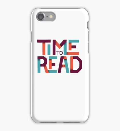 Time to Read iPhone Case/Skin