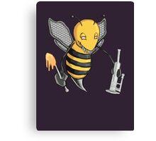 Bee Dab (No Text) Canvas Print