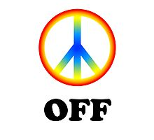 Peace off Photographic Print