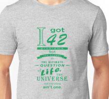42 problems Unisex T-Shirt