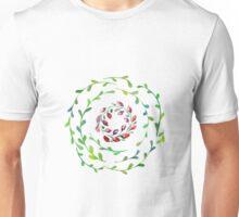 Watercolor ethnic abstract mandala Unisex T-Shirt