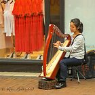 Street life - Harpist by © Kira Bodensted