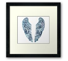 COLDPLAY GHOST STORIES Framed Print