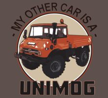 My other car is a Unimog - Orange Baby Tee