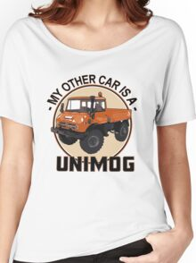 My other car is a Unimog - Orange Women's Relaxed Fit T-Shirt