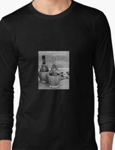 bottle of wine Long Sleeve T-Shirt
