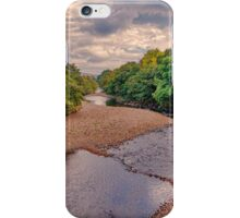 River Swale in Autumn iPhone Case/Skin