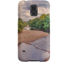 River Swale in Autumn Samsung Galaxy Case/Skin