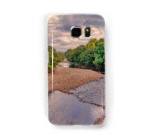 River Swale in Autumn Samsung Galaxy Case/Skin