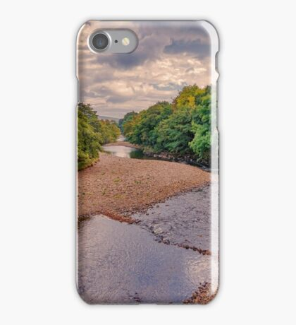 River Swale in Autumn iPhone Case/Skin