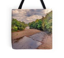 River Swale in Autumn Tote Bag