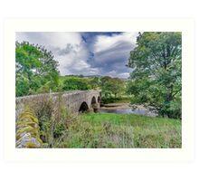 Swaledale Packhorse Bridge Art Print