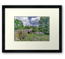 Swaledale Packhorse Bridge Framed Print
