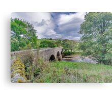 Swaledale Packhorse Bridge Metal Print