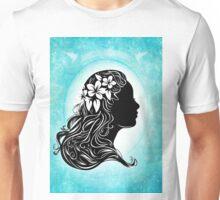 beautiful girl silhouette  Unisex T-Shirt
