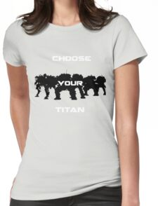 Choice of Titan Womens Fitted T-Shirt