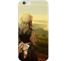 Young traveller in Moravia iPhone Case/Skin