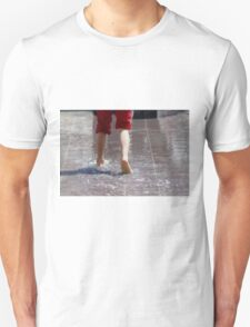 feet in the water Unisex T-Shirt