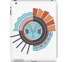 Folk sun iPad Case/Skin