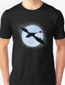 Full Moon Dragon Unisex T-Shirt