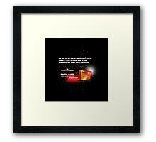 Force-ilify Framed Print