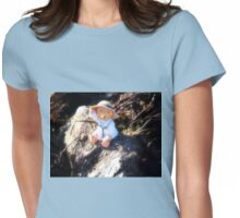 A wave from little Bear...........Dorset UK Womens Fitted T-Shirt