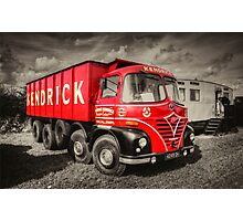 Foden S21A    Photographic Print