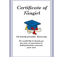 Certified Fangirl by assorted