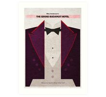 The Grand Budapest Hotel Art Print