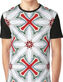 Christmas Candy Canes_1 Graphic T-Shirt