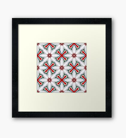 Christmas Candy Canes_1 Framed Print