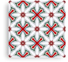Christmas Candy Canes_1 Canvas Print