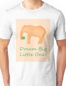 Orange Elephant Dream Big Unisex T-Shirt