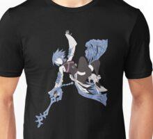 Aqua Silhouette Unisex T-Shirt