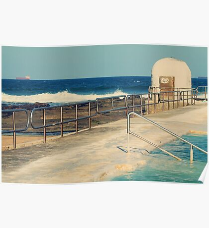 Merewether Pumphouse and Ocean Baths  Poster