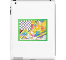 Psychedelic Pictures Cartoon iPad Case/Skin