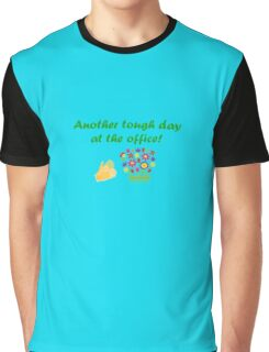 Another Tough Day At The Office Graphic T-Shirt