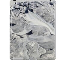 Glacial mud iPad Case/Skin